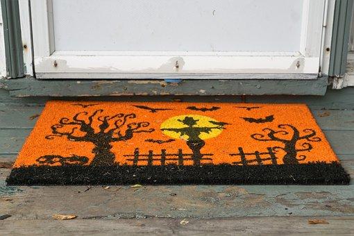 Input, Carpet, Halloween, America, Canada, Orange