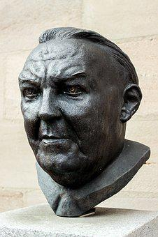 Bust, Chancellor, Sculpture, Policy, Monument, Fürth