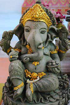 Statue, Lord Ganesha, Religious, Culture, Religion, God