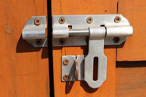 Latch Lock, Lock, Latch, Door, Security, Protection