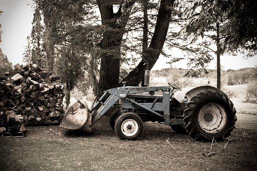 Tractor, Country, Agriculture, Farm, Rural, Farming
