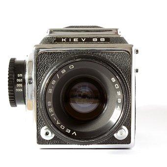 Camera, Analog, Kiev, Russian, Russia, Analog Camera