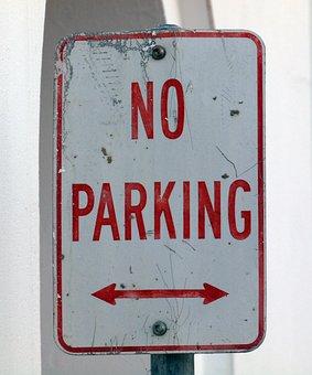 No Parking, Parking, Sign, No, Road, Traffic, Symbol