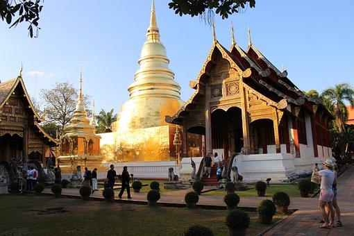 Thailand, Temple, Wat, Travel, Thai, Religion