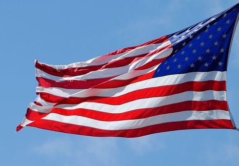 American Flag, Patriotism, Symbol, Red, White, Blue