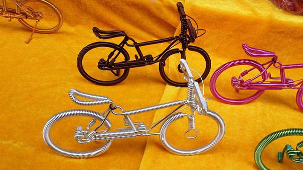 Art, Bike, Bicycle, Small Toys