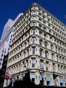 Bennett Building, New York City, Architecture, Facade