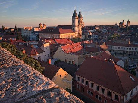 Hungary, Eger, Europe, Tourism, City, Architecture