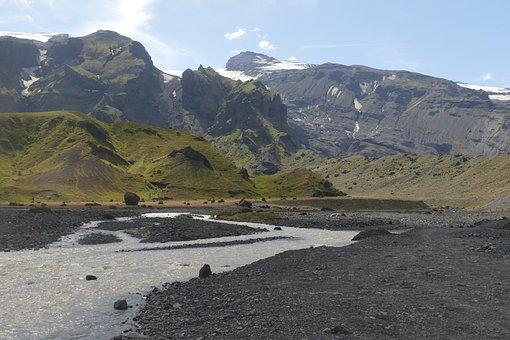Iceland, Thor Mark, Wilderness, Nature, Glacier