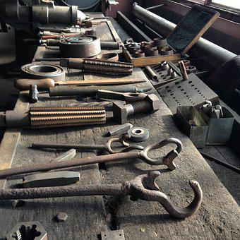 Tool, Bill, Carbon, Ruhr Area, Mining, Industry