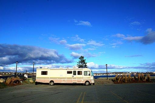 Caravan, Travel, Canada, Halifax, Novo Skotia, Freedom