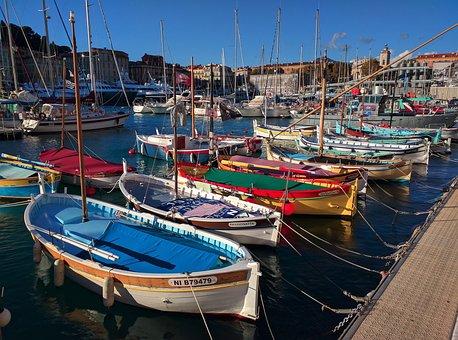 Port, Old, Sea, Yacht, Boat, Nice, Riviera, France