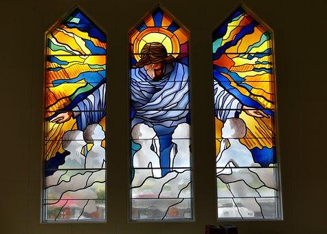 Window, Church Window, Stained Glass, Church, Jesus