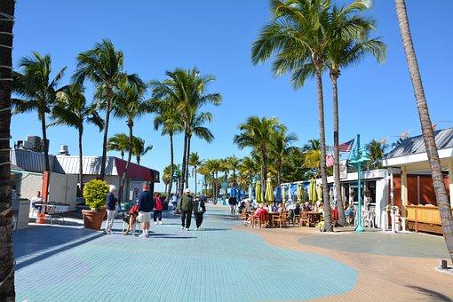 Florida, Holiday, Beach, Leisure, North America