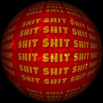 Shit, Dirty Word, Mishap, Misfortune, Pile, Stupidity