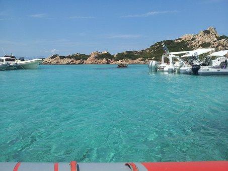 Sea, Sardinia, Caprera, Holidays, Water, La Maddalena