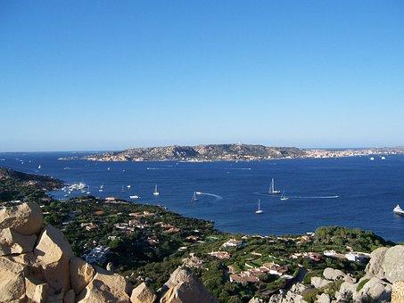 La Maddalena, Sea, Sardinia