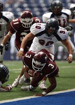 Touchdown, American Football, Running Back
