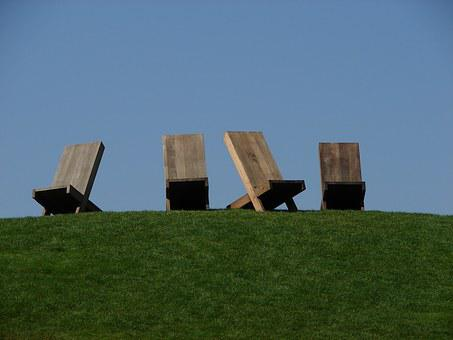 Wolfsburg, Car Town, Sun Loungers, Art Deco