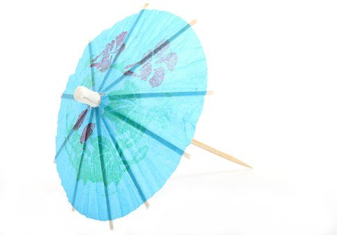 Cocktail Umbrella, Umbrella, Paper Umbrella, Colorful