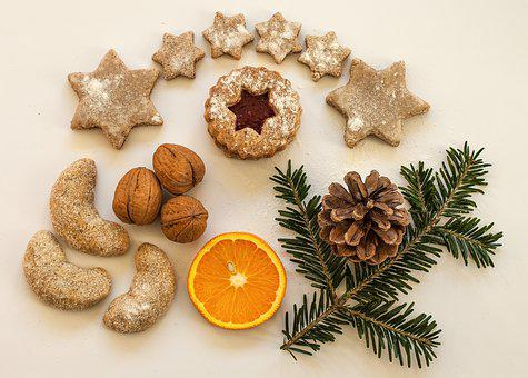 Cookie, Cookies, Small Cakes, Bake, Pastries, Christmas