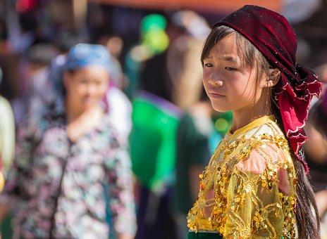 Girl, Young, Vietnam, Ethnic, Minority, Dong Van