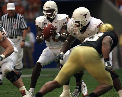 Quarterback, Football, Player, Ball, Sport, American