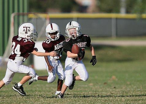 Football, Running Back, Youth League, Ball Carrier