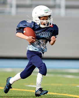 Football, Youth League, Player, Action, Running Back