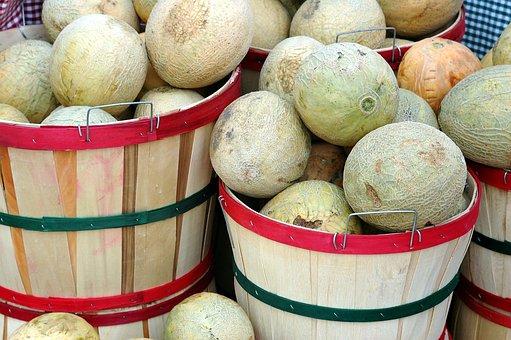 Melon, For Sale, Food, Fruit, Fresh, Healthy, Market