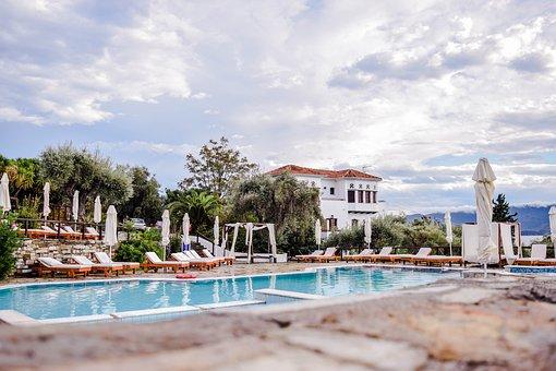 Greece, Hotel, Travel, Tourist, Summer, Holiday