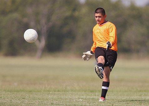 Soccer, Football, Player, Kicking, Kick, Ball, Sport