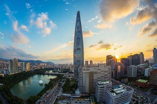 Lotte World Tower, Seoul, Republic Of Korea, Korea