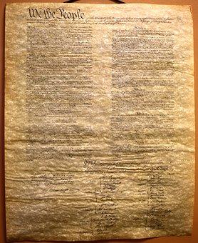 Old, Transcript, Constitution, Vintage, President