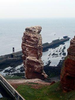 Helgoland, Lange Anna, Sea Island, North Sea, Rock