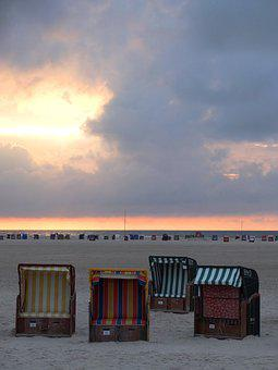 Amrum, Beach, Sea, North Sea, Island, Nordfriesland