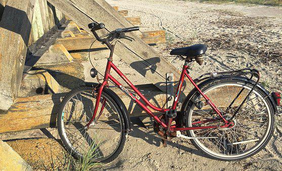 Bike, Still Life, Bicycles, Turned Off, Wheels, Island