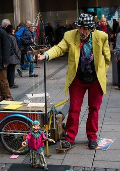 Street, Puppet, Children, Comic, Mime, Game, Theatre