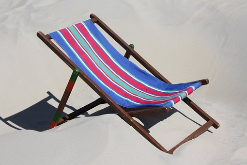 Beach, Chair, Germany, Travel, Summer, Relax, Water