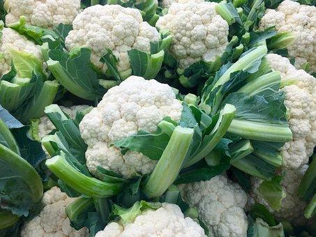 Vegetable, Cauliflower, Cruciferous, Healthy, Raw, Food