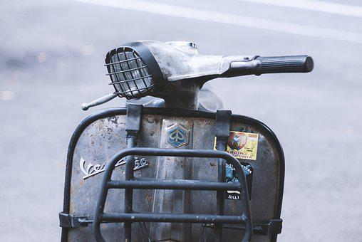 Vespa, Motor, Italian, Scooter, Motorcycle, Vehicle