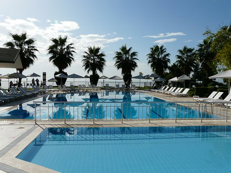 Pool, Schwimmungpool, Water Basin, Hotel, Hotel Complex