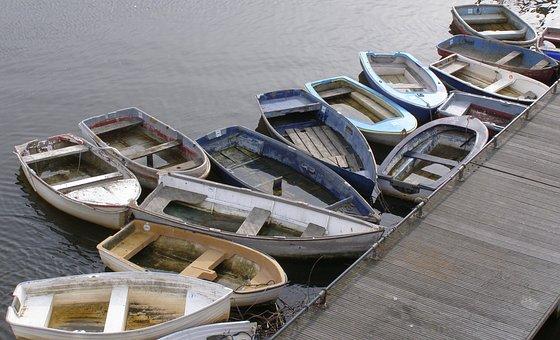 Boats, Marina, Marine, Row Boat, Water, Harbor, Port