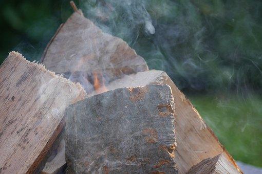 Fire, Campfire, Adventure, Wood, Smoke