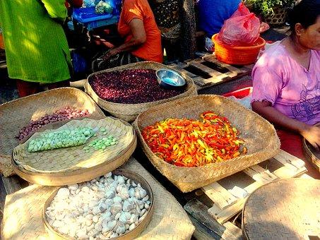 Market, Bali, Pasar