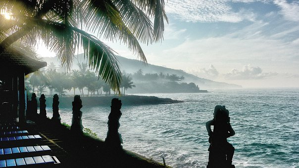 Bali, Beach, Candidasa, Travel