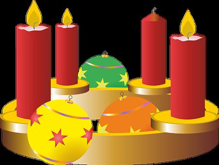 Third Advent, Advent Wreath, Advent, Christmas Time