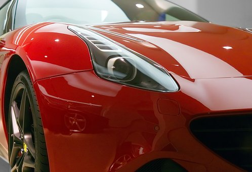 Ferrari, Car, Sports, California, Red, Vehicle, Design