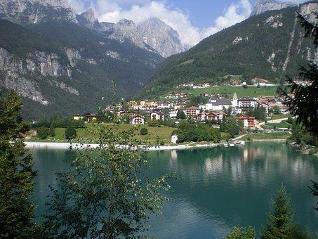 Molveno, Lake, Mountain