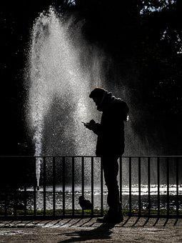 Supplier, Person, Man, Soledad, Water, Park, Mobile